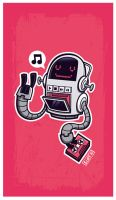 Robot Tapes by cronobreaker