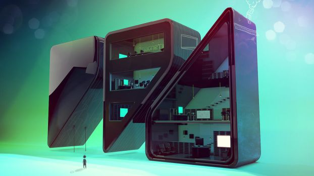magnetico offices by kampollo