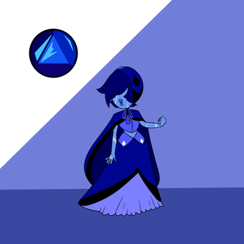 Verneuil Sapphire by popinat