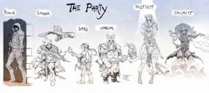 The Party by Nezart