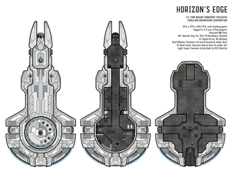 Horizon's Edge Starship by Sub-Thermal