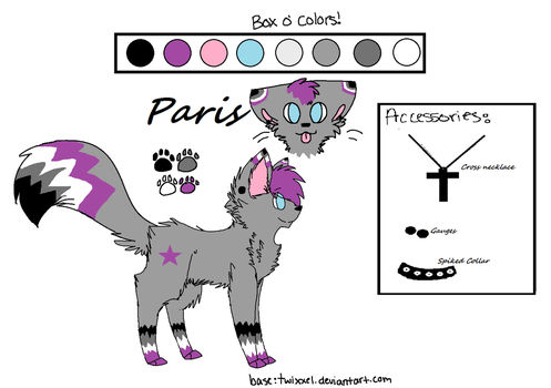 Asexual Kitty by FeralHeartGirl