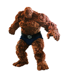 F4's The Thing (Full Body) - Transparent! by Camo-Flauge
