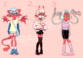 [OPEN|2/3] Adopt Auction| Demon Adopts #1 by 401r0