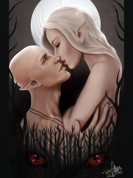 When the Dread Wolf Takes You by SarahMillerCreations