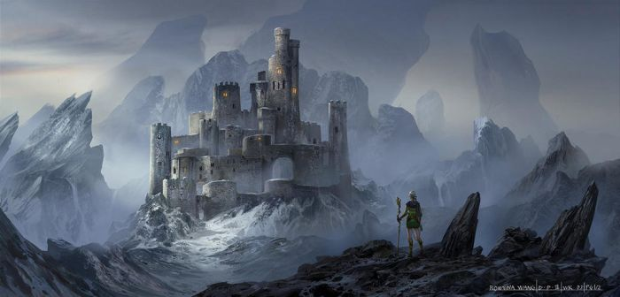 Snow Castle by wang2dog
