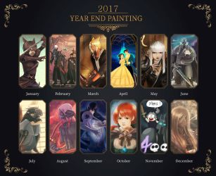 year panting 2017 by Poticceli
