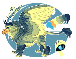 Gryphon Design Auction - CLOSED by Vesu-Adopts
