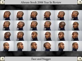 Face and Nugget 06 YIR by Ahrum-Stock