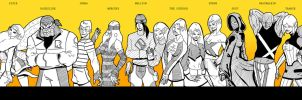 X-men Young Guns by lone-wolf-boudin