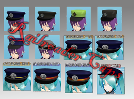 .: MMD Railroader Caps DOWNLOAD :. by HaruchanShirayuki769