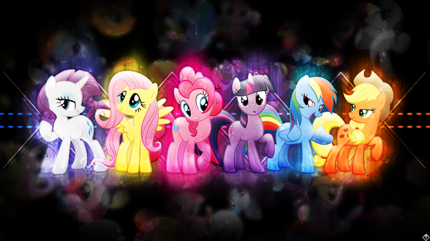 FiM wallpaper - Harmony Revitalized REDUX by KibbieTheGreat