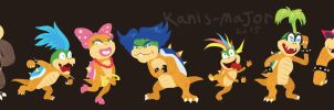 Koopalings by Kosmotiel