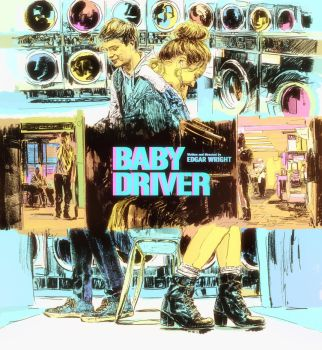 BABY DRIVER by MRoblin