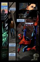 Spider-Man Comic page 1 finished by IronWarrior777