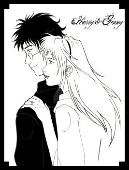 HP: Harry and Ginny by Bubblecat
