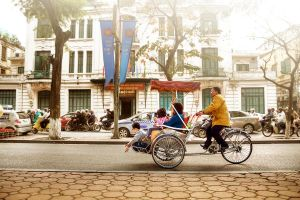 Cyclo (Tricycle) by garki