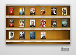 iBooks background for Finder by bobjr