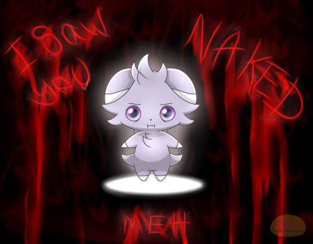 The worst thing Espurr has ever seen by Spice5400