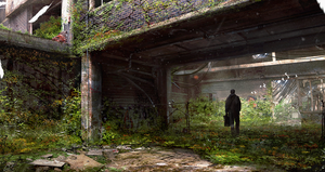 Overgrown Building by Aeflus