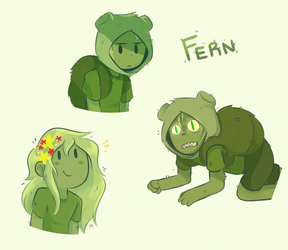 Fern the Human by I-Am-Not-A-Muffin