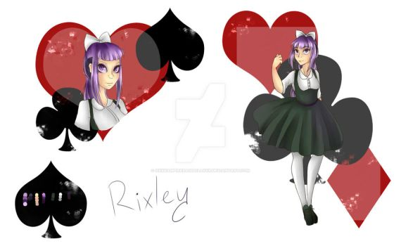 10-6th Application - Rixley by xXxVampireRagdollxXx