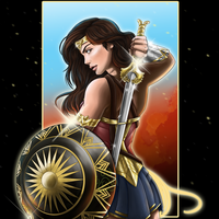 Wonder Woman by EmeraldSora