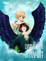 The Dreamer and the Raven - Cover Art by Fiorina-Artworks