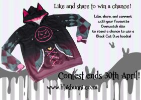 Contest on facebook - win a hoodie by BlakBunni