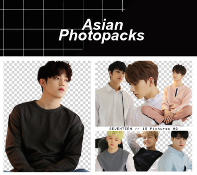 Pack Png 084 // SEVENTEEN (ALONE). by xAsianPhotopacks