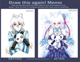 Draw this again meme: 2010 vs 2012 by SnowCorridor