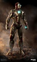 Iron Man 3 posed mark 42 by Jfields217