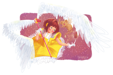 digital illustration | Cardcaptor Sakura by greenmaggot