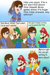 Comm: smash comic for MarioSonicGamer6 1/4 by Patdarux