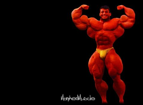 On stage muscle by MorphedMuscle