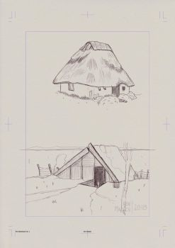 Page0050 - Huts and Houses by kenmadsenart