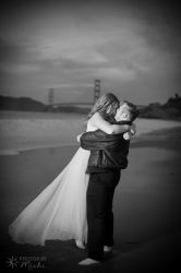 Beach Engagement Session by Kyndelfire