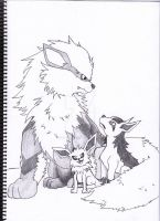 my favourite dogs pokemon by DJ95code-hope
