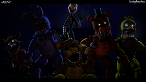 [SFM FNAF] Withered Invasion [4K] by CortezAnimations