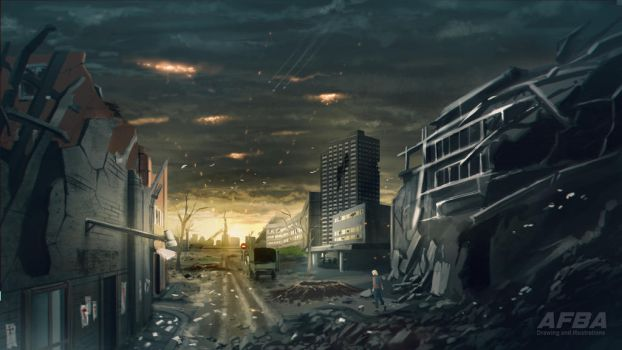 The City That Once Was by AFBA