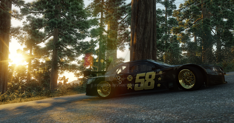 The Crew   Nissan Skyline R34 V-spec - Redwood by 3xhumed