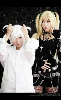 DN Cosplay: Near and Misa Play by Crissey