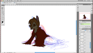 Mrs. Brisby WIP by MaiaxDale