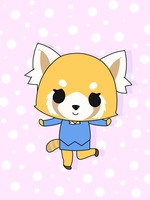 Aggretsuko by SassySquirtle