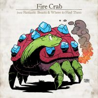 Fire Crab by SzokeKissMarton