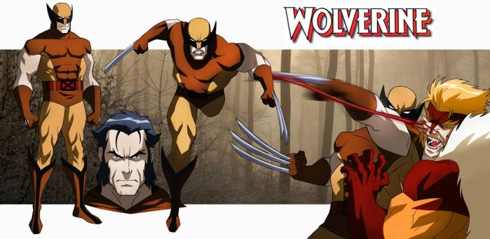 WOLVERINE ANIMATED by CHUBETO