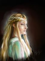 Lady Galadriel by AndreevaPolina