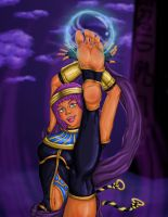 Menat - Cloudy with a chance of Sole Storm by PsylisiaDragoon