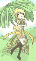 Dandelion Princess by Ask-TheGrimReaper