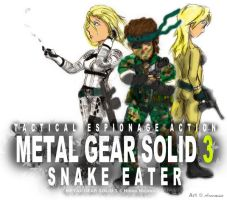 Metal Gear Solid 3 - Tshirt by Arcemise